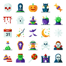 Halloween Icons Pack