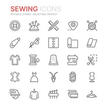 Collection Of Sewing Related L...