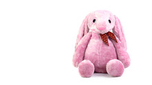 Pink Rabbit Doll With Big Ears...