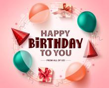 Happy Birthday Greeting Card V...