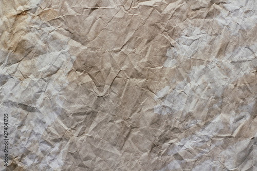 Old dirty crumbled paper background texture  Vintage letter template