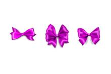 Holiday Satin Gift Bow Knot Ribbon Lavender Lilac