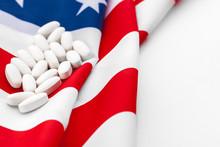 White Prescription Pills On Un...