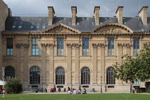 Tablou Canvas le louvre in paris (france)