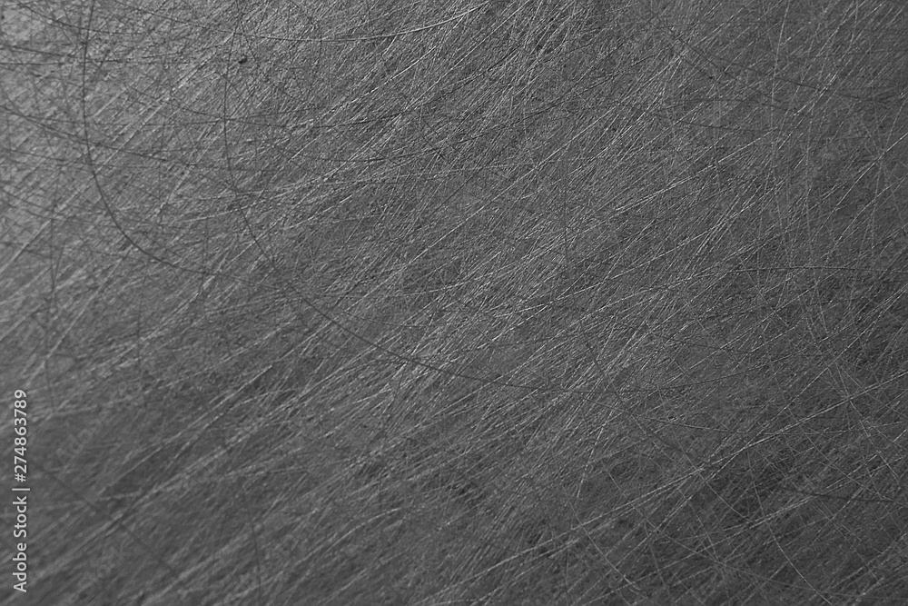 Fototapety, obrazy: gray background scratch texture / abstract blank, vintage wall texture with scratches wallpaper