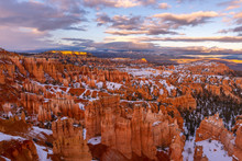 Amphitheater From Sunset Point, Bryce Canyon National Park, Utah, USA