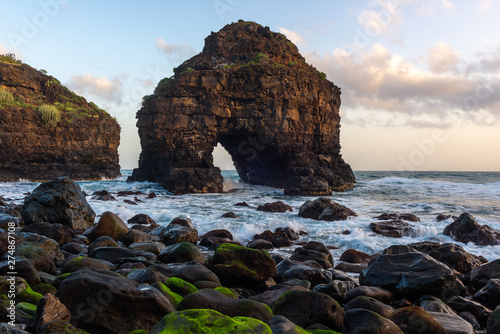 Fotografia Arch of Los Roques beach, Tenerife island, Spain
