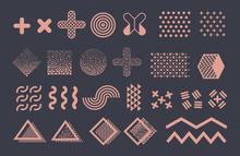 Memphis Graphic Vector Element...