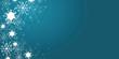 Leinwanddruck Bild - winter web banner