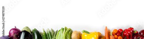 Photo sur Aluminium Légumes frais Vegetable Mix