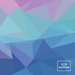 Abstract triangle vector background. Element for your website or presentation. Triangular poly illustration design