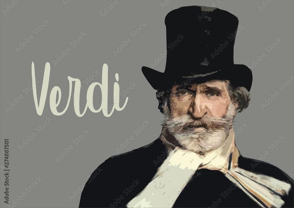 Fototapeta Giuseppe Verdi