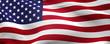 Leinwandbild Motiv Flag of the United States of America