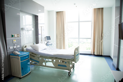 Recovery Room with beds and comfortable medical Wallpaper Mural
