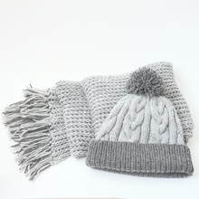 Close Shot Of Cold Weather Winter Handmade Knitting Clothes