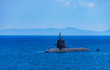 The image of national defense, submarine, navy
