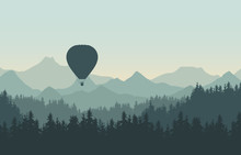 Realistic Illustration Of Land...