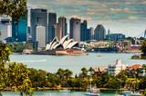 Sydney Skyline wzięte z Taronga Zoo