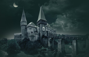 Corvin's Castle in Hunedoara