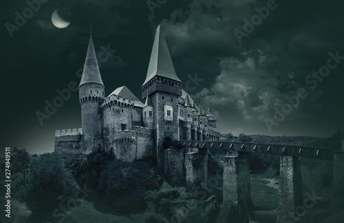 Photo  Corvin's Castle in Hunedoara