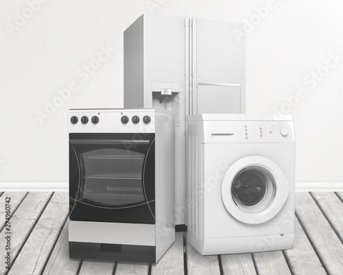 Appliance. Canvas Print