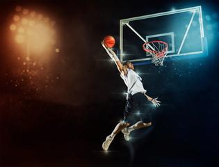 Muškarac košarkaš