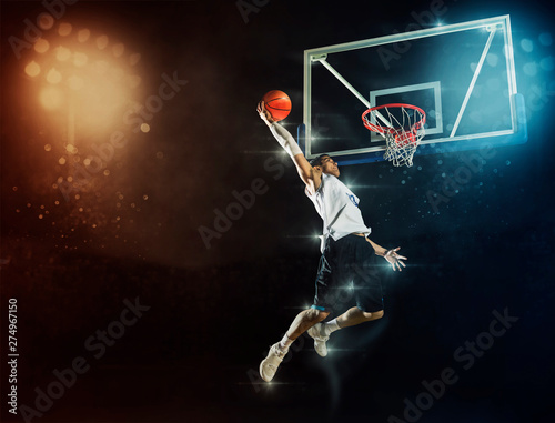 Man basketball player