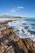 canvas print picture - beach near the cape of good hope