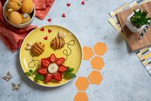 Pancake With Fruits Look Like ...
