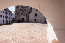 An Arch In A Thick Stone Fortr...