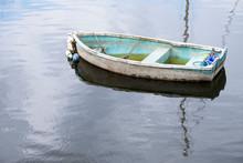 Single Lonely Boat Sinking In ...