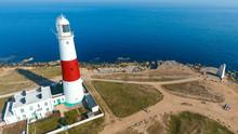 Portland Bill Lighthouse, In Weymouth Dorset, UK