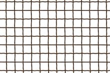 Metal Grille. Wire Fence Isola...