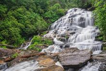 North Carolina Waterfall Near ...