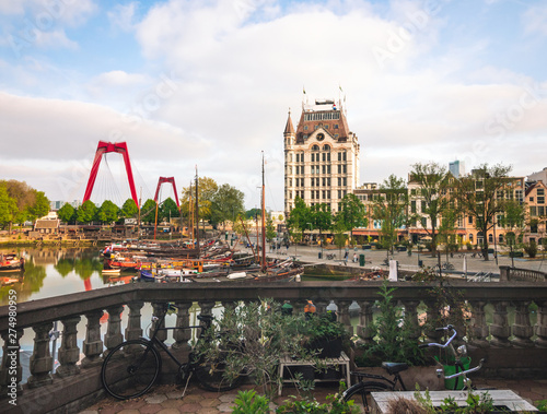 Tuinposter Rotterdam Rotterdam, Netherlands