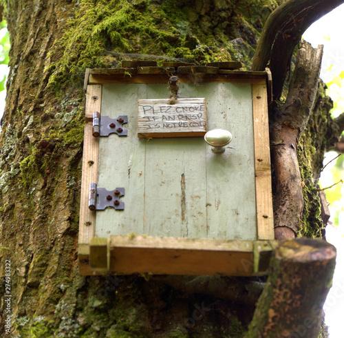 Owl's house Winnie the pooh Hartfield Canvas Print