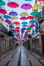 Umbrellas Street Decoration