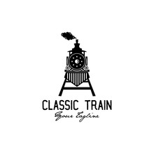 Classic Train Logo Design