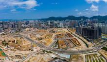 Top View Of Hong Kong Construc...