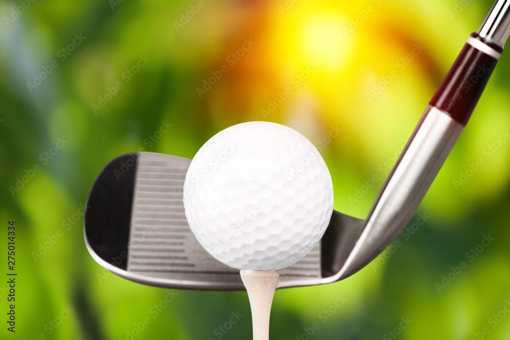 Fototapety, obrazy: Golf.