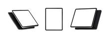 Tablets At Various Angles. Rea...