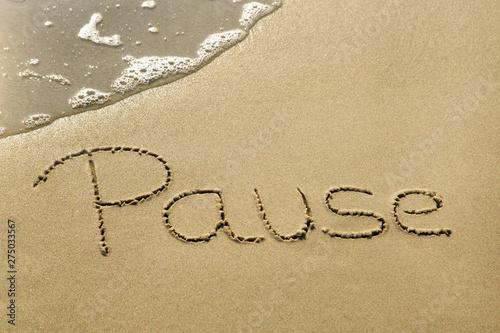 Fotografija Pause
