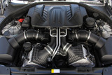a petrol engine in a sports car - 275041912