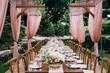 canvas print picture - Wedding details. Wedding decor. Wedding style.