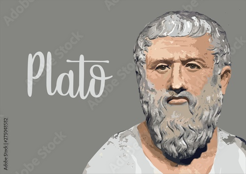 Obraz Plato portrait - fototapety do salonu
