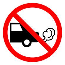 Do Not Switch On Engine Symbol Sign, Vector Illustration, Isolate On White Background Label .EPS10