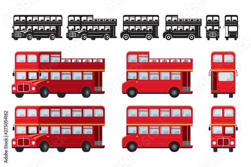 Fotografie, Tablou  London Double Decker Bus, Tourist Attraction