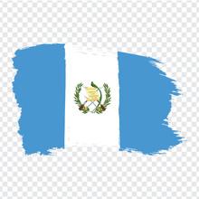 Flag Of Guatemala  From Brush ...