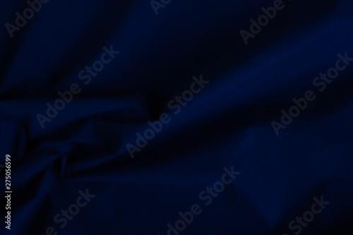 Fotografia, Obraz  Factory fabric dark blue velvet texture background