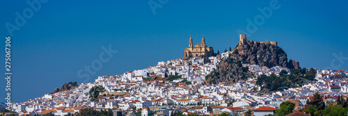 Photo Olvera white village in Cadiz province, Andalusia, Spain